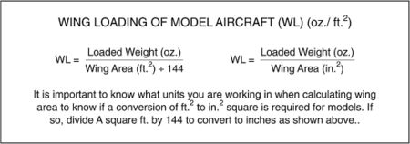 Wingloadingcalc