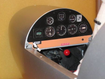 Jim Hoffer SGS 1-23 3.3m instrument Panel