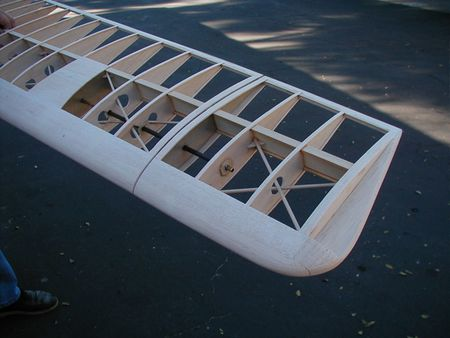 Bowlus SP1 wing aileron