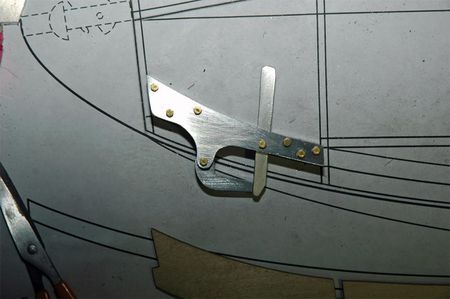 Schweizer scale model tow hook