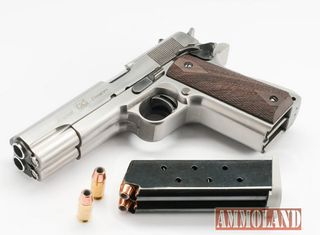 AF2011-A1-Second-Century-Double-barrel-pistol