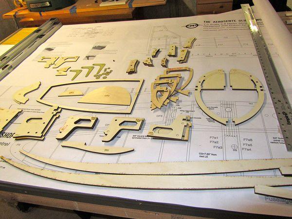 The Aerosente Glider Workshop: 1:3 Scale Slingsby Type 13 Petrel
